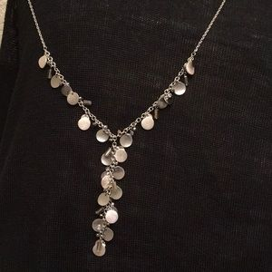 Jewelry - ** 3 for $45 SALE ** Lydell Silver Disc Necklace